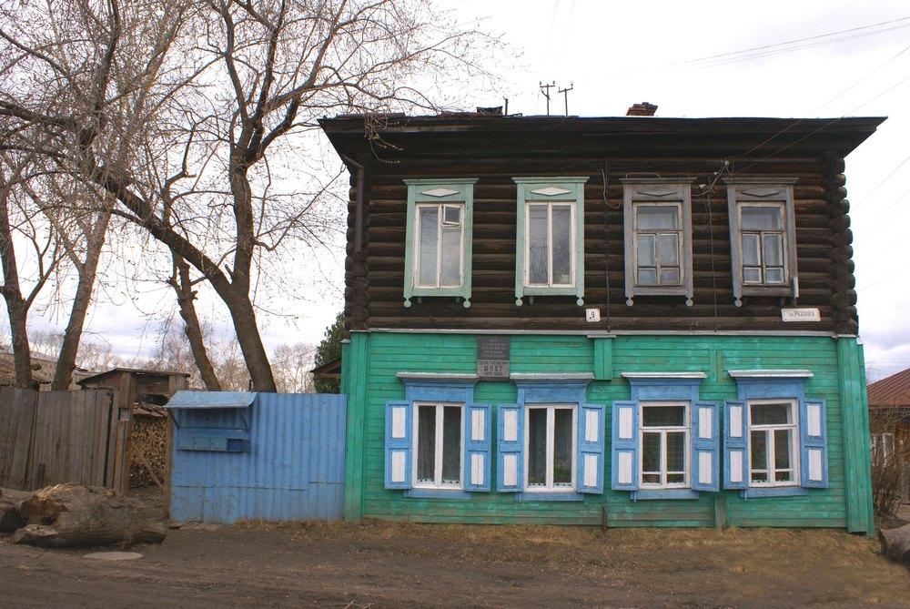Дом в переулке Рузского, 9 (бывш. Колпашевский переулок). Фото Г. Кан. 2008 г.