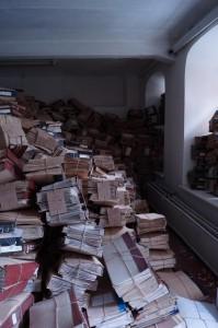 Документы ГПЗ-5  переданы в архив.  Август 2013 г.
