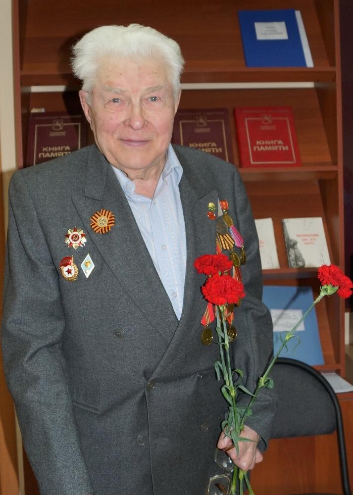 К. П. Митькин. Ветеран Великой Отечественной войны. Фото Г. И. Кан.
