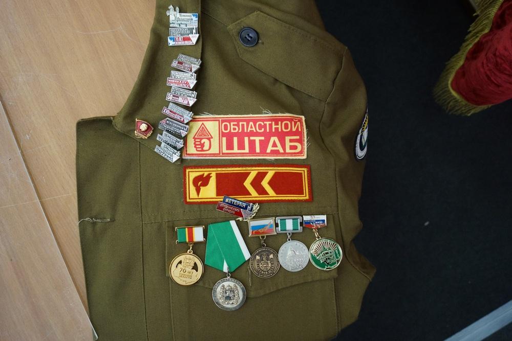 Куртка комиссара областного штаба ССО 1970-х Галины Сухушиной