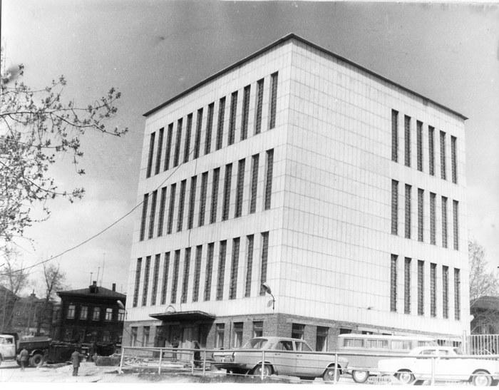 Строительство здания ПАТО, Источная ул., д. 2а. 1978 г. // ЦДНИ ТО. - Ф. 1300. - Оп. 2. - Д. 560.