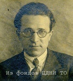 Калилов Сергей Матвеевич. 1940 г.