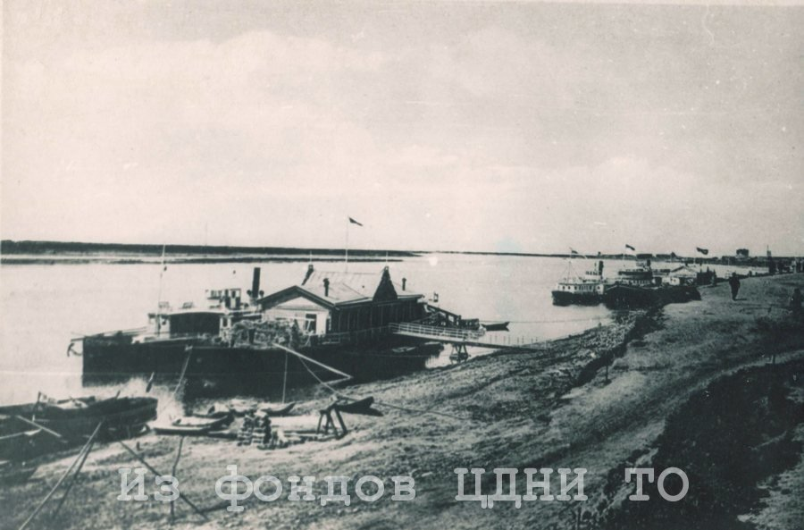 Томская пристань. 1915 г. // ЦДНИ ТО. - Ф. 5655. - Оп. 1. - Д. 253.