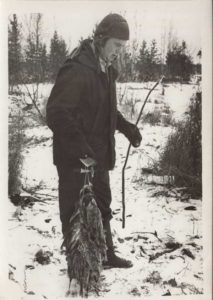 В. М. Кулемзин на рыбалке. 1974 г. // ЦДНИ ТО. – Ф. 5789. – Оп. 1. – Д. 81. – Л. 4.
