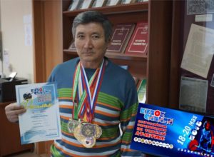 Б. Юсупов завоевал золотую медаль в Кубке Сибири по тяжелой атлетике среди старших возрастных групп. 18-20 мая 2108
