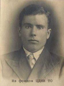 Савостенко Виктор Михайлович. 1940-1941. Томск // ЦДНИ ТО. Ф. 80. Оп. 2. Д. 4322.