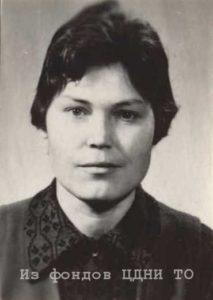 май 1972 - октябрь 1975 - Липская Александра Андреевна (1936 г.р. Образование: историко-филологический факультет ТГУ)