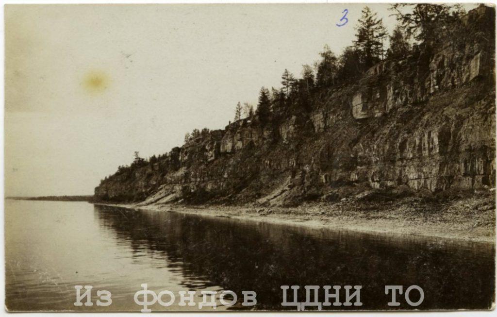 Почтовые открытки природы и быта Якутии к. XIX- н. XX в.  Коллекция С. А. Малых, привезенная из ссылки в Якутскую область. 1904-1905 гг. ЦДНИ ТО. Ф. 5640. Оп. 1. Д. 39. № 3. Надпись на обороте: