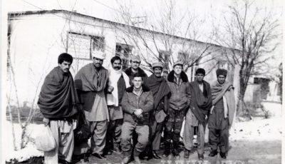 4-й слева Дубровин П. Ю. г. Баграм. Афганистан. 1988 г. // ЦДНИ ТО. Ф. 5666. Оп. 1. Д. 183.