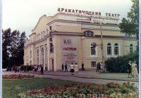 Артисты театра им. Моссовета на гастролях в Томске. 8 августа 1978 г.