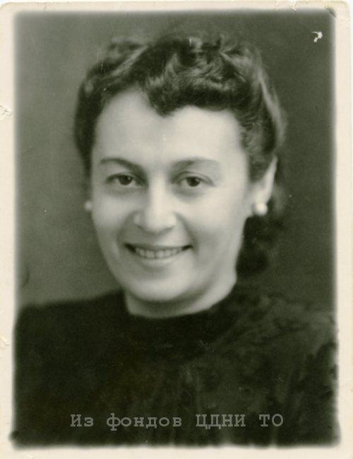 Бабицкая Евгения Ароновна. Томск. 1950-е гг.