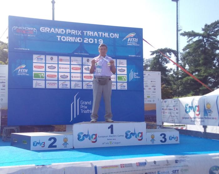 Юсупов Б. К. - золотой призер Четвёртых Европейских играх мастеров в Турине (Италия). 26 июля - 4 августа 2019 г.