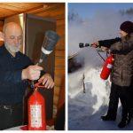 Практические занятия по противопожарной безопасности в ЦДНИ ТО. 13 марта 2020 г.