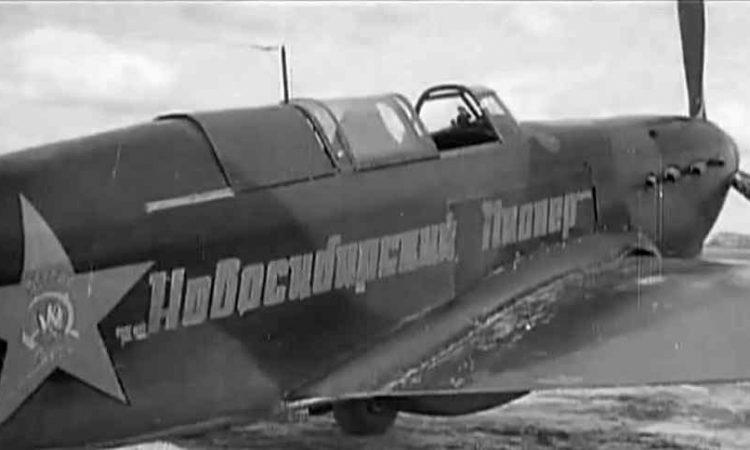 Истребитель Як-7а «Новосибирский пионер» // http://ava.org.ru/iap/12g.htm