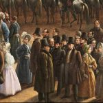 Фрагмент картины Чернецова Г. Г. «Парад по случаю окончания военных действий в Царстве Польском 6 октября 1831 года на Царицыном лугу в Петербурге» (1832-1837)