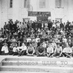 Участники I Томского уездного съезда Советов. 11-17 июня 1920 г. ЦДНИ ТО. Ф. 1300. Оп. 2. Д. 482.