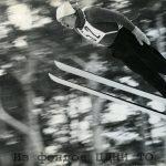 Прыжок с трамплина В. Селихова. 1975 г. ЦДНИ ТО. Ф. 6177. Оп. 2. Д. 141. Л. 10об.