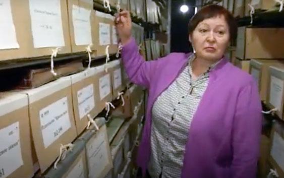 Телесюжет ко Дню архивов Российской Федерации