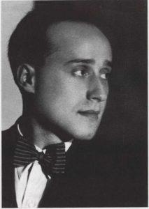 М.С.Друскин. Ленинград. Ноябрь 1930г.