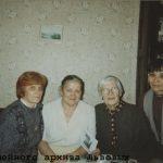 Н.А. Лурья, Э.Л. Львова, М.Г. Шпет, О.Я. Скрябина. 1996 г.