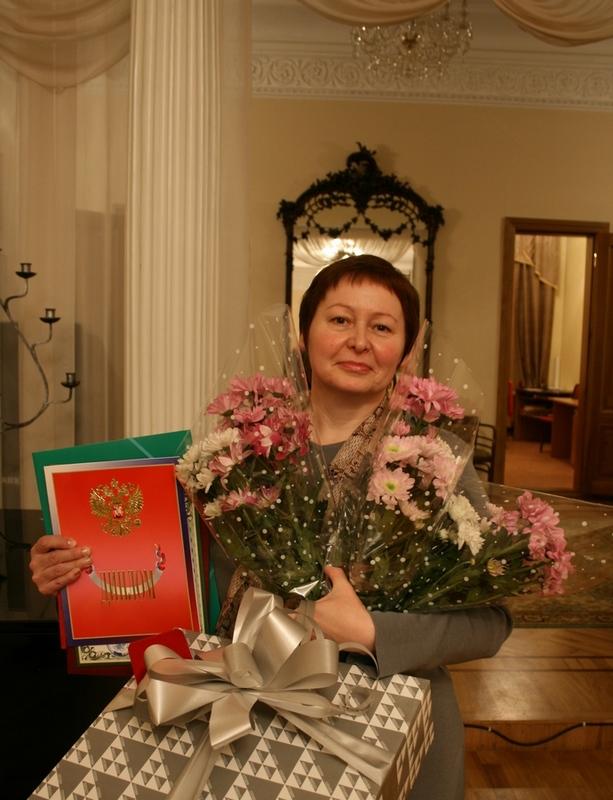 Людмила Николаевна Приль, лауреат конкурса 2014 года