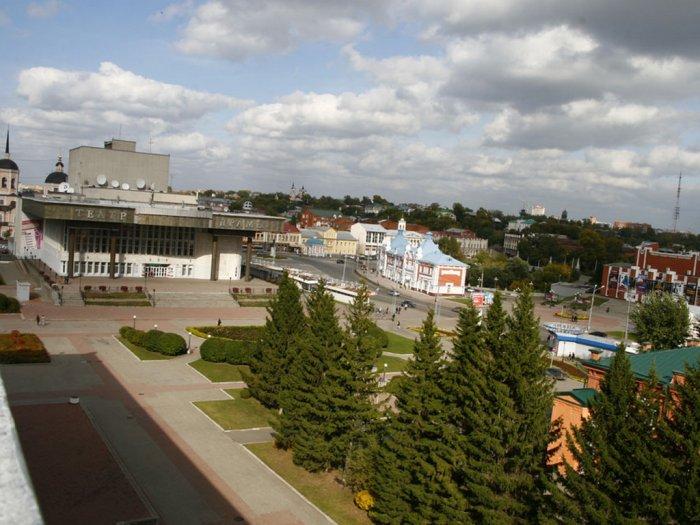 Площадь Ленина. 2014 г. Автор снимка С. Г. Кукшенев.