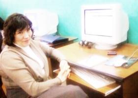 Оксана Репина, зав. сектором информационных услуг и автоматизированных архивных технологий