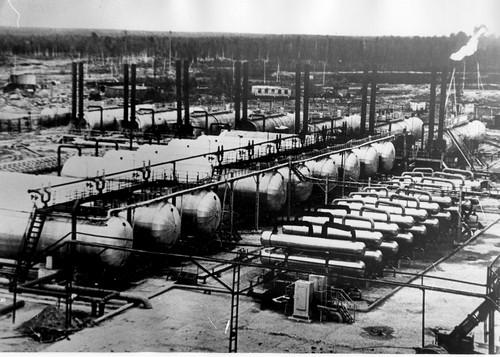 термохимическая установка по подготовке нефти