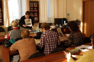 Сотрудники ТОКМ в архиве. 21, 28 марта 2016