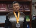 Поздравляем коллегу с серебряной медалью!
